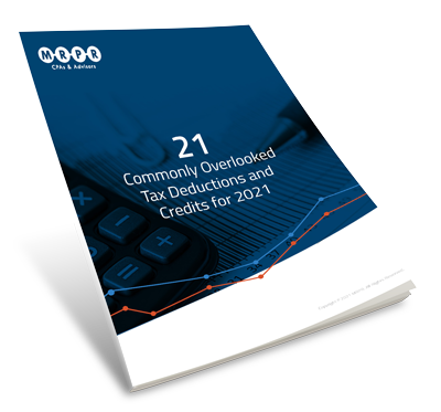 MRPR guide to the 21 commonly overlooked tax deductions